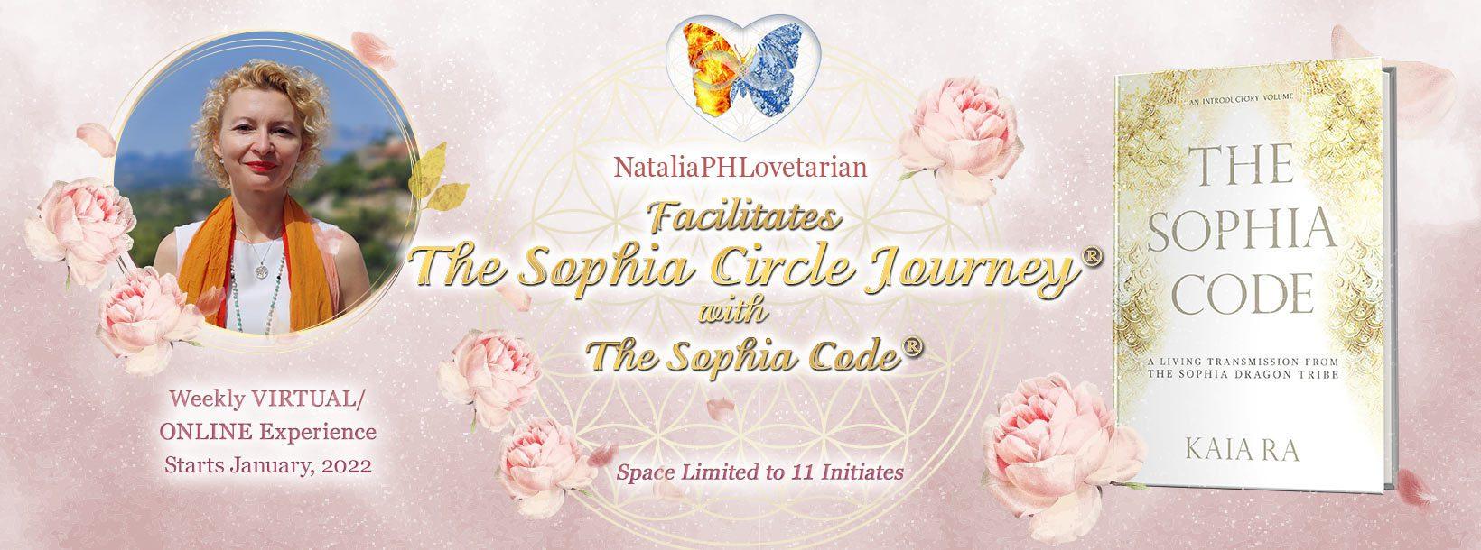 "SOPHIA CIRCLE JOURNEYS® with ""The Sophia Code"""